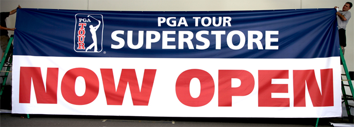 Outdoor Vinyl Banner for PGA USA