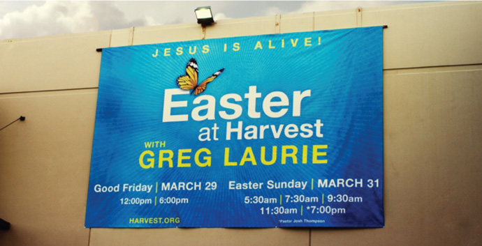 Banner Printing for Churches