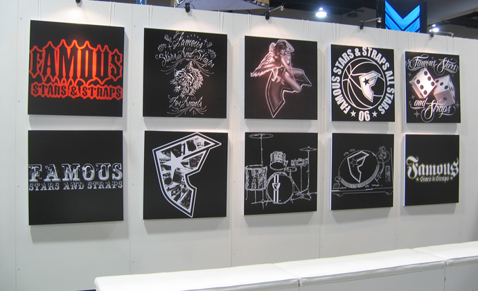 Trade Show Canvas Display Prints